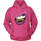 Purple Lips Hoodies