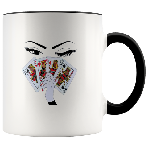 Card Girl Mugs