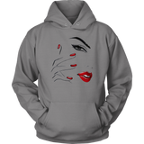 Red Nail Lips Hoodies