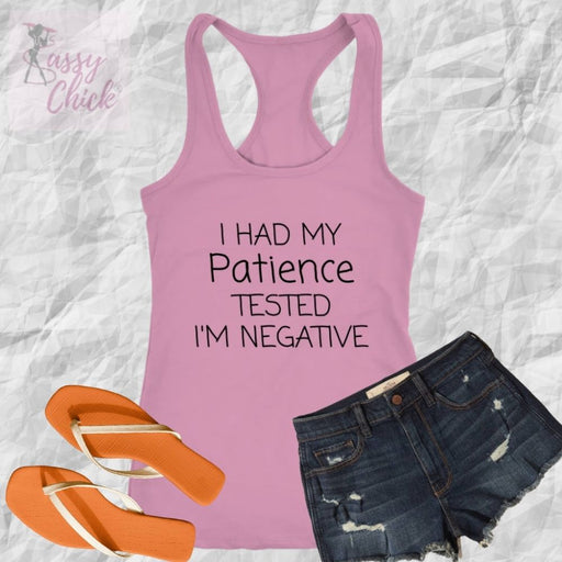 Patience Tank - Shop Sassy Chick