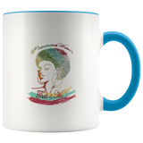Mug Phenomenal Woman Ceramic Coffee Mug - Blue | Shop Sassy Chick