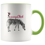 Coffee Zebra Ceramic Mug - Green | Shop Sassy Chick