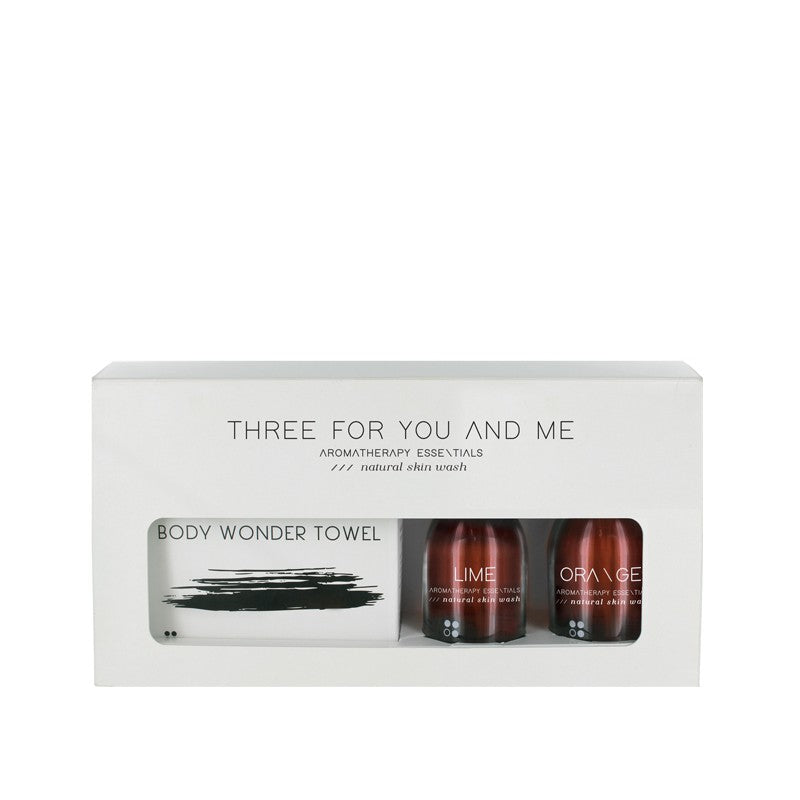 Three for you and me - Lime + orange 100 ml