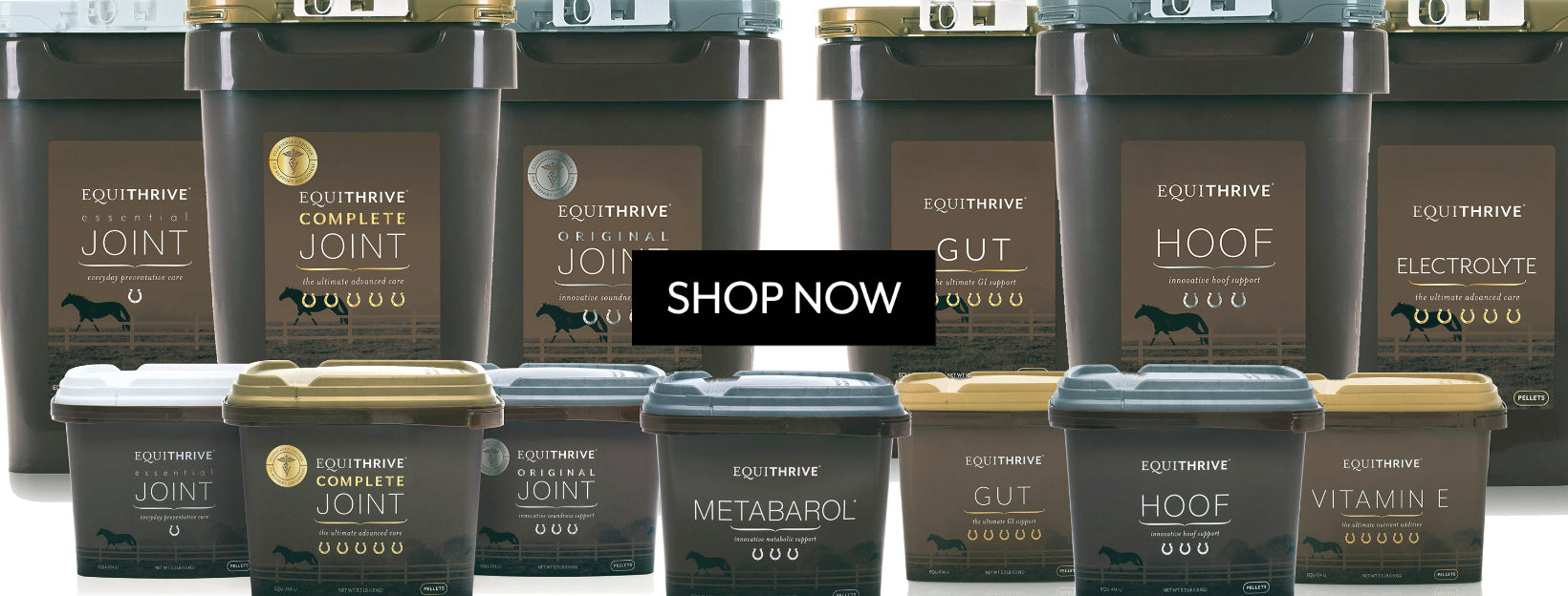 Equithrive supplements for horses all products