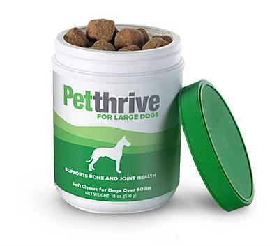 Petthrive Soft Chews for Large Dogs (for dogs 60 lbs. or greater)