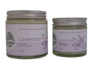 Lavender Special Offer - Organic Body Butter and Face Balm
