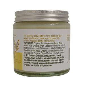 Organic Lemon Body Butter
