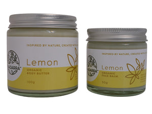 Lemon Special Offer - Organic Body Butter and Face Balm
