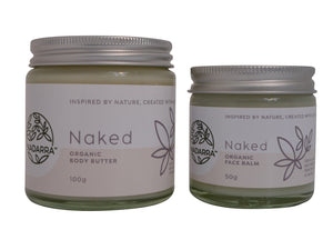 Naked Special Offer - Organic Body Butter and Face Balm