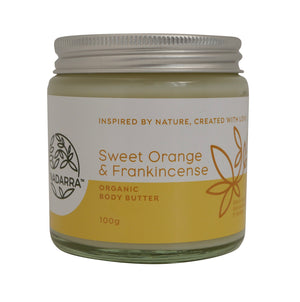 Organic Sweet Orange and Frankincense Body Butter
