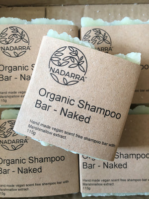 Organic Naked Shampoo Bar