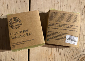 Organic Pet Shampoo Bar