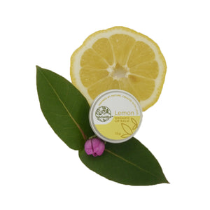 Organic Lemon Lip Balm
