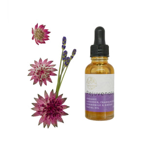 Rejuvenate - Organic Lavender, Chamomile and Frankincense Face Oil