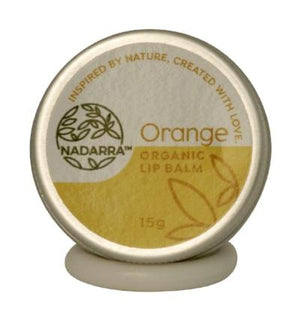 Sweet Orange Organic Lip Balm