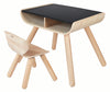 Wooden Chalkboard Toddler Table