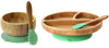 Baby-led Weaning Bamboo Bowl, Plate, and Spoons Combo