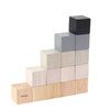 Gray Counting Wooden Blocks