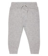Gray Organic Cotton Baby Pants
