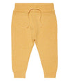 Mustard Organic Cotton Baby Pants