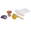 Wooden Fruit and Veggie Set