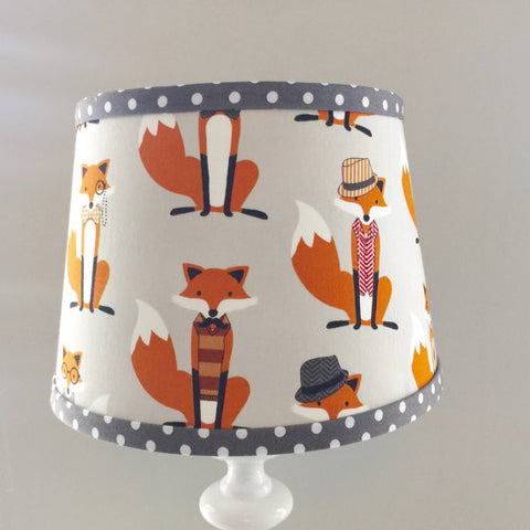 Fox Dapper Lamp Shade
