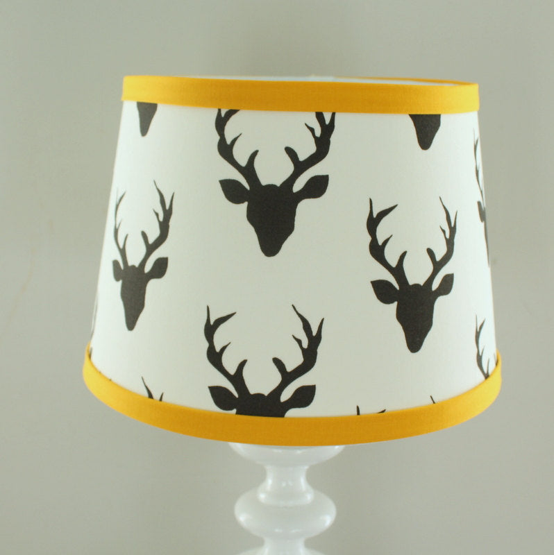 Buck Gold & Black Lamp Shade