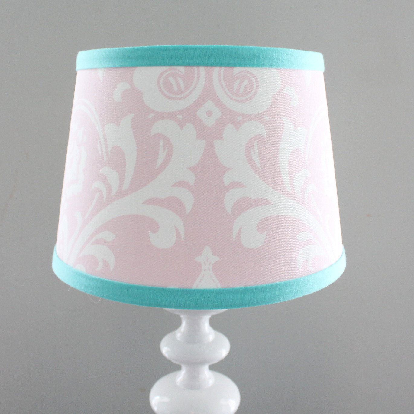 tbl lamp layered scallop shell small aqua