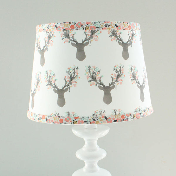 Coral Little Stag Lamp Shade
