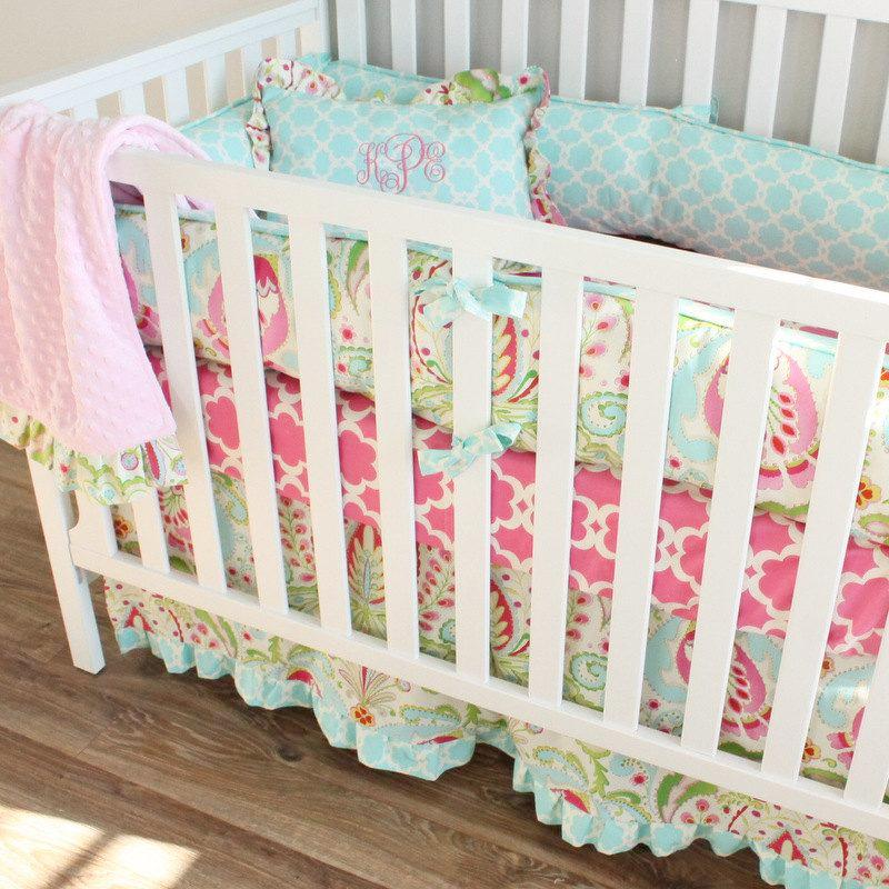 Kumari Garden Crib bedding set