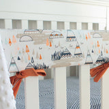 Indian Summer Woodland Teepee Crib Bedding