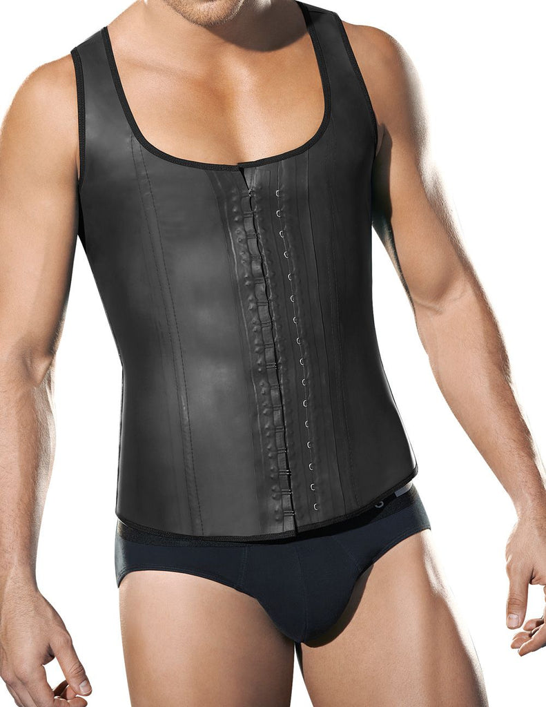 Ann Chery 2033 Latex Men Girdle Body Shaper Color Black Plus