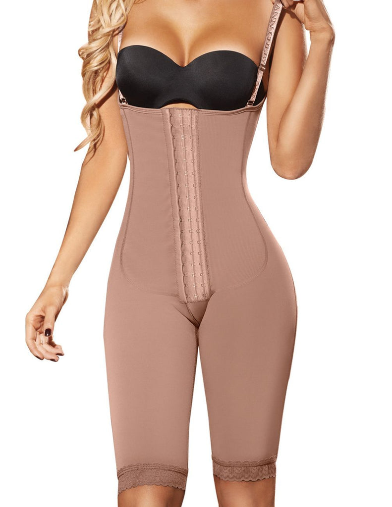Ann Chery 5147 Powernet Isabella Shapewear Color Brown Plus