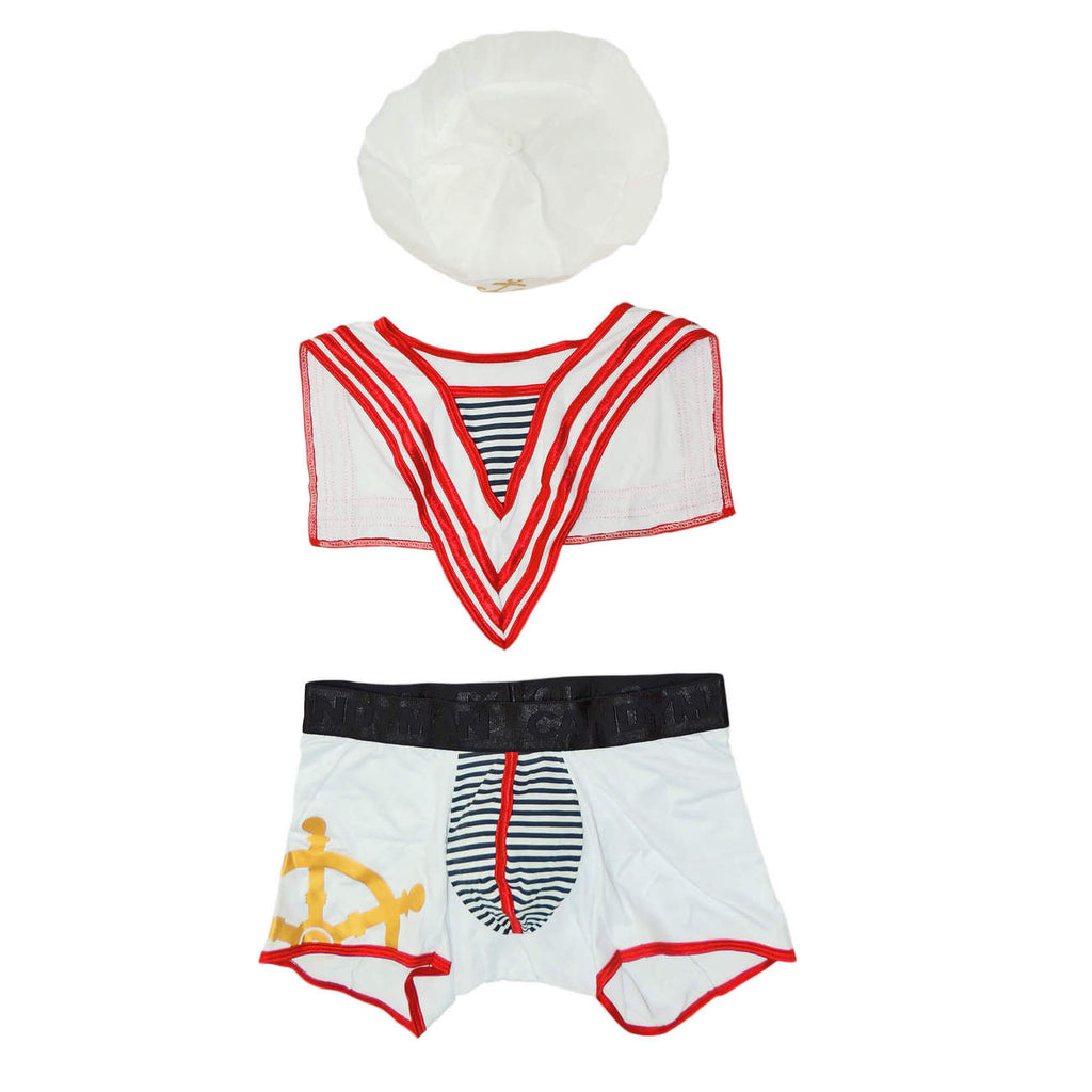 CandyMan 9557 Sailor Costume Outfit Color White
