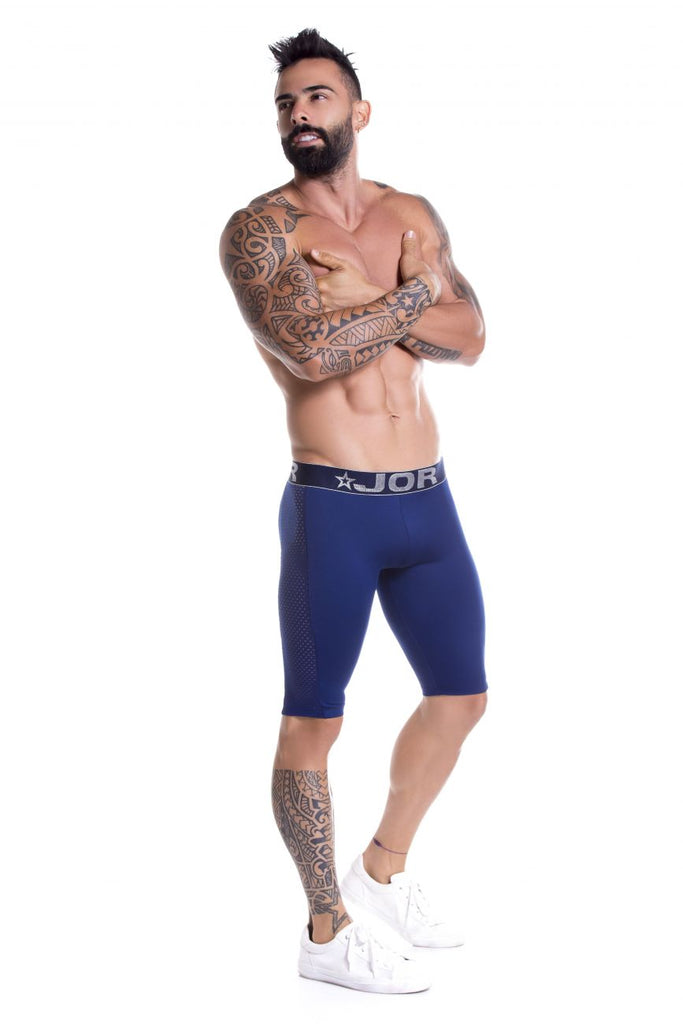 JOR 0798 Prix Athletic Shorts Color Blue