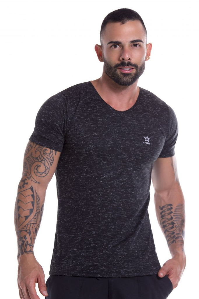 JOR 0933 Porto T-Shirt Color Black