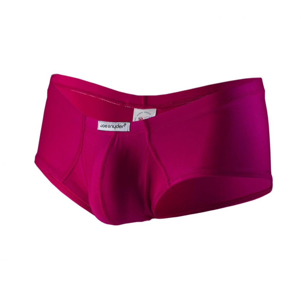 Joe Snyder JS13-Pol Polyester Cheek Boxer Color Fuchsia-Poly