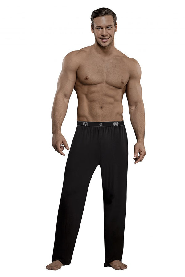 Male Power 188-253 Bamboo Lounge Pants Color Black