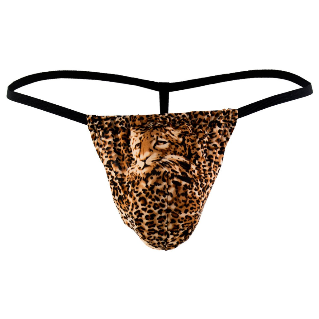 Male Power 450030 Animal Posing Strap Thong Color Brown