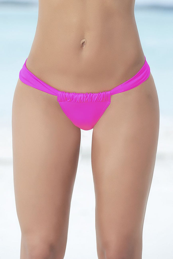 Mapale 6904 Sunny Days Thong Swimsuit Bottom Color Pink