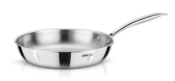 WholeBodyClad Triply Stainless Steel Frying Pan