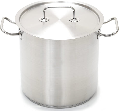 Professional Stainless Steel Stock Pot with Lid
