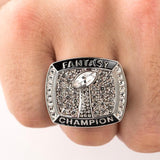 Championship Ring w Engraved Display Case