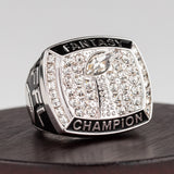 Fantasy Football Ring - Silver