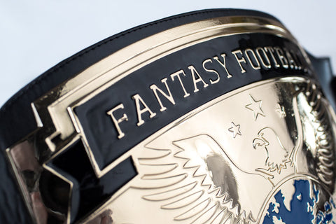 fantasy football championship belt - mainplate