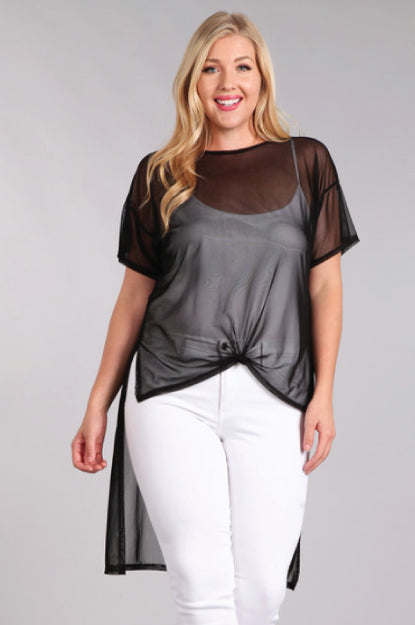 On a Whim Hi-Lo Layering Top