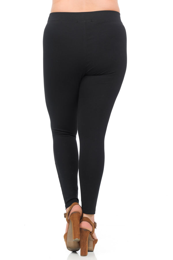 Women's Plus Size Premium Ponte Leggings