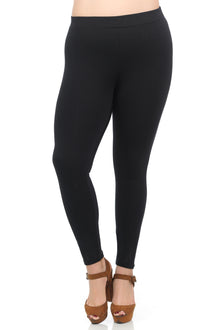 Premium Ponte Leggings in Black