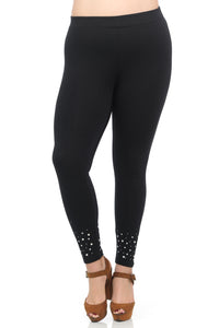 Premium Leggings w/ Pearls