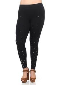 Star Studded Ponte Leggings